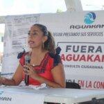 YA VAN MÁS DE 23 MIL FIRMAS EN LA CONSULTA CIUDADANA ¡FUERA AGUAKAN: MARYBEL VILLEGAS