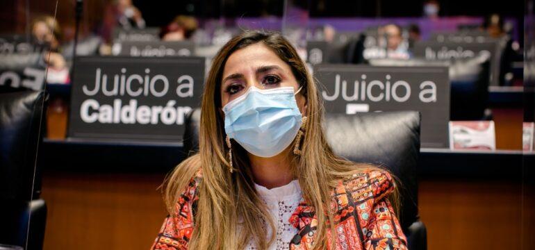 Senadora Marybel Villegas sesión del 7 de octubre