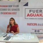 INICIA MARYBEL VILLEGAS RECOLECCIÓN DE FIRMAS PARA RETIRARLE LA CONCESIÓN A AGUAKAN