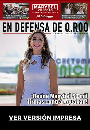 ¡Reúne Marybel 50 mil firmas contra Aguakan!