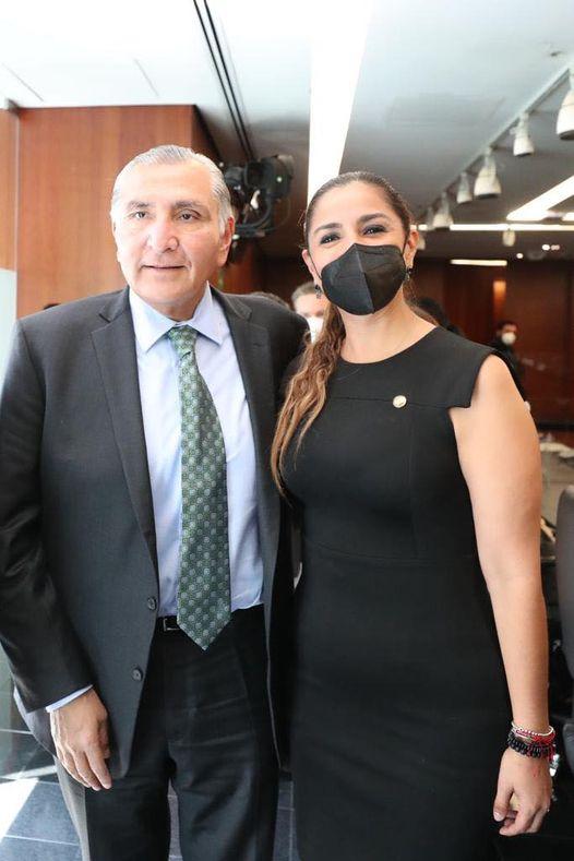 con Adán Augusto López