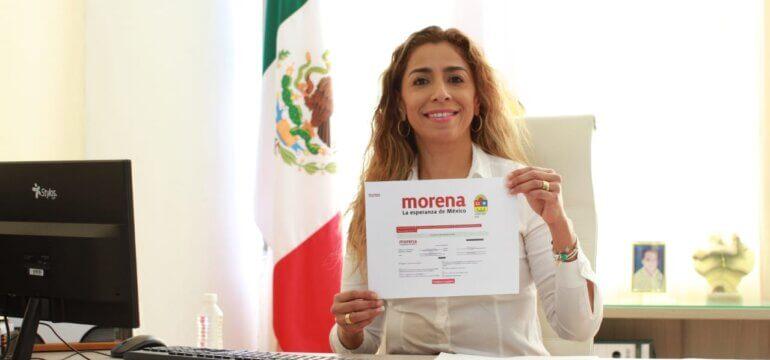 Marybel Villegas registro precandidata